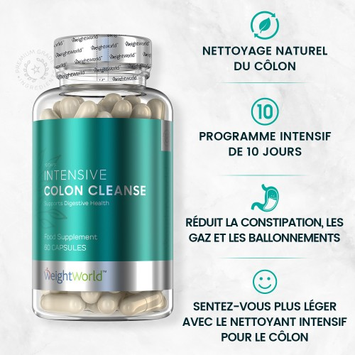 Intensive Colon Cleanse | Nettoyage du colon naturel